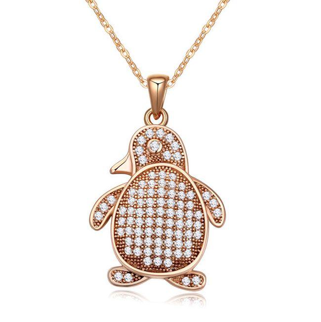 Новые стили penuins ожерелье в сплава цинка ювелирные изделия для девочек-подростков
