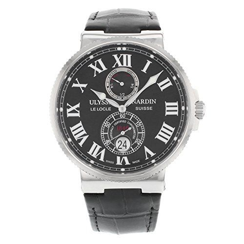 cool Ulysse Nardin Maxi Marine Chronometer Mens Automatic Watch 263-67-3/42 just added...  Check it out at: https://buyswisswatch.co.uk/product/ulysse-nardin-maxi-marine-chronometer-mens-automatic-watch-263-67-3-42/