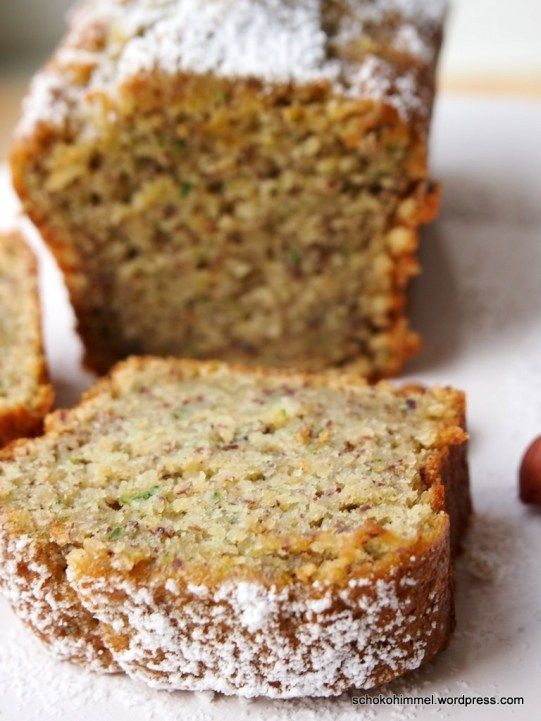 Juicy Zucchini Nut Cake & a sugar sweet floral greeting
