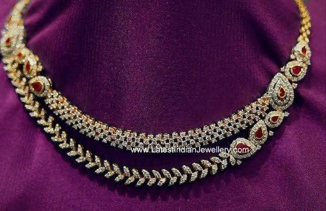Indian Diamond Necklace