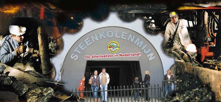 Steenkolenmijn Valkenburg aan de Geul - De allerlaatste in Nederland!