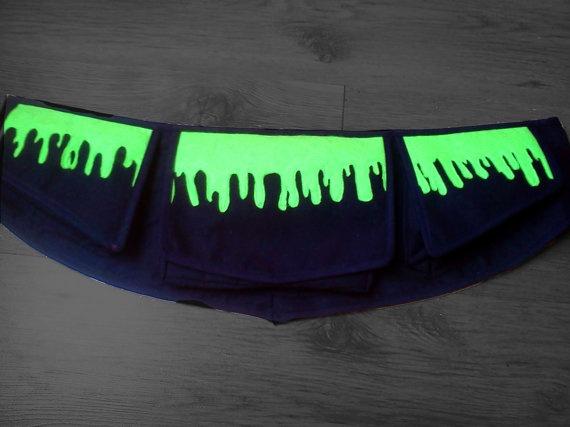 Psychedelic Cthulhu Hip Bag / Fanny Pack / Belt by gabriellamoldo, $36.00
