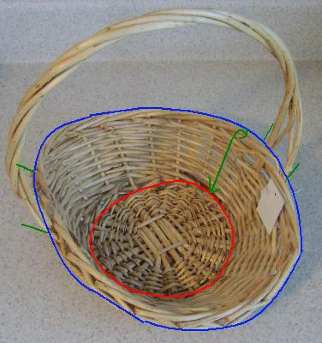 Basket Making Supplies Maine : Repupose a basket with fabric liner the o jays new