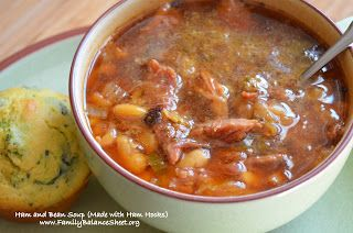 Ham and Bean Soup (Made with Ham Hocks)