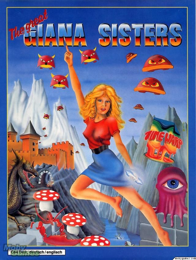 C64 Commodore 64 video games — Giana Sisters