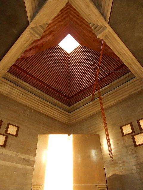 dettaglio cappella - tomba Brion - Carlo Scarpa | by Pivari.com