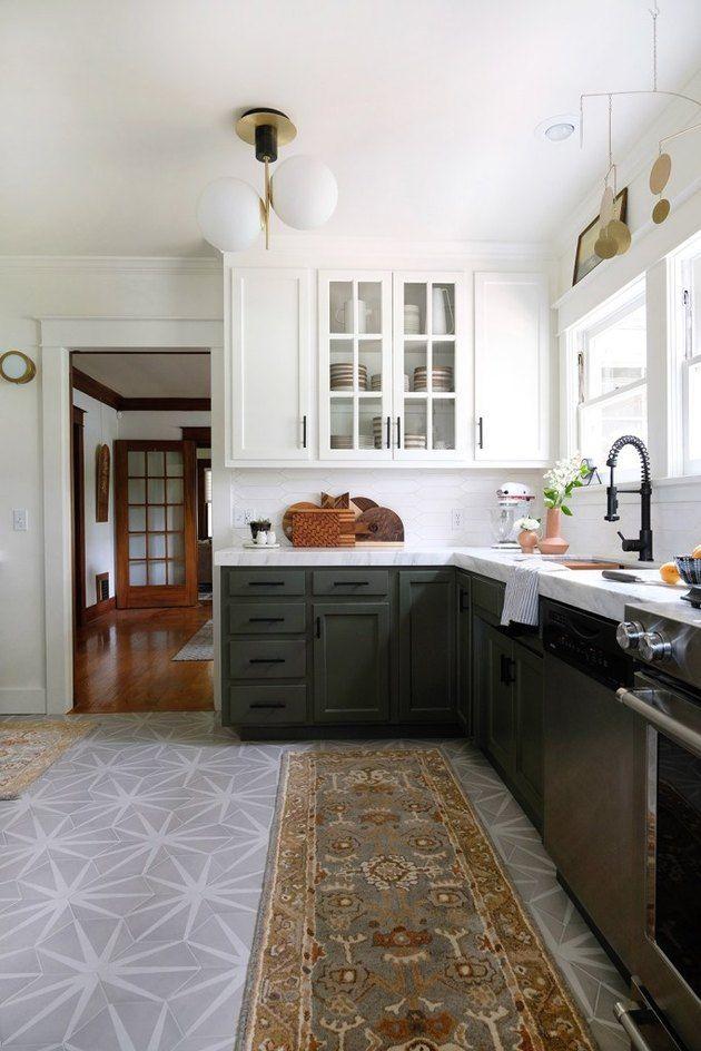 These Modern Kitchen Floor Ideas Deserve Some Serious Consideration Hunker Modern Kitchen Flooring Kitchen Flooring Options Kitchen Flooring