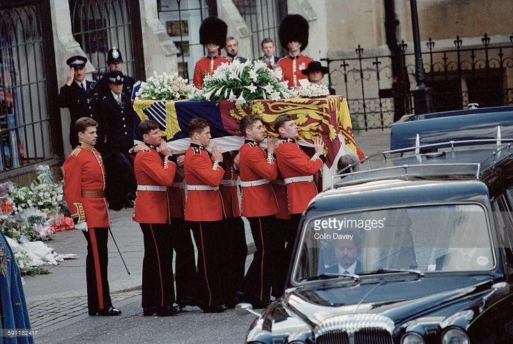 Funeral da Princesa Diana.