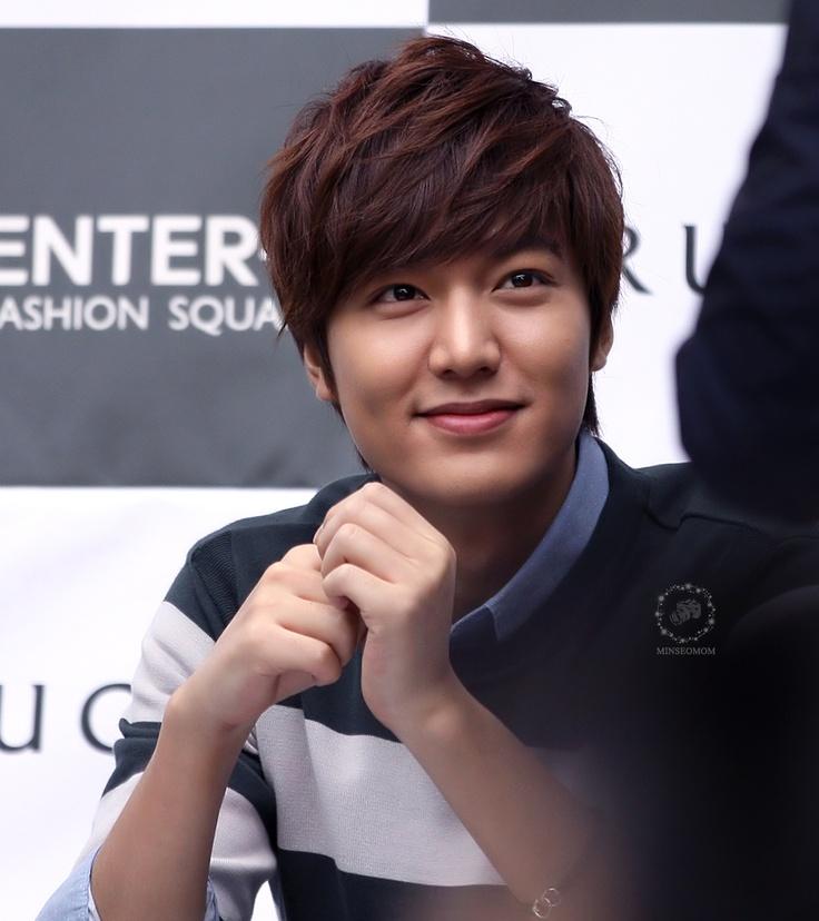 Why is he so darn cute!!! Lee Min Ho