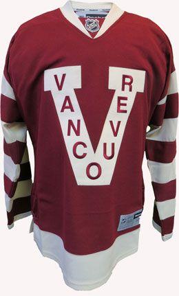 Vancouver Millionaires Premier Dark NHL Hockey Jersey