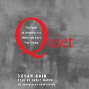 Quiet: The Power of Introverts in a World That Can't Stop Talking | [Susan Cain]