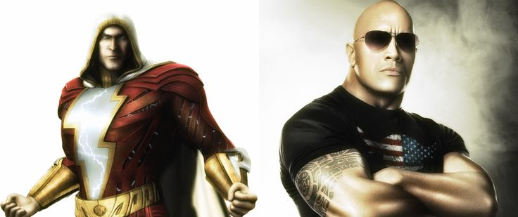 Dwayne Johson to play the role Of DC character Shazam
