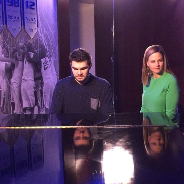 A little sneak peek at Isaac Humphries' special with ESPN's Shannon Spake. Be on the lookout this week #BBN!