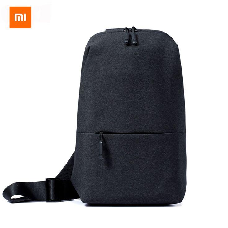 Original Xiaomi Mi Shoulder Bag Simple Chest Pack Men Bag Women Casual Mini Bag Fashion Type Rucksack For Camera Phones //Price: $20.38 & FREE Shipping //     #hashtag3