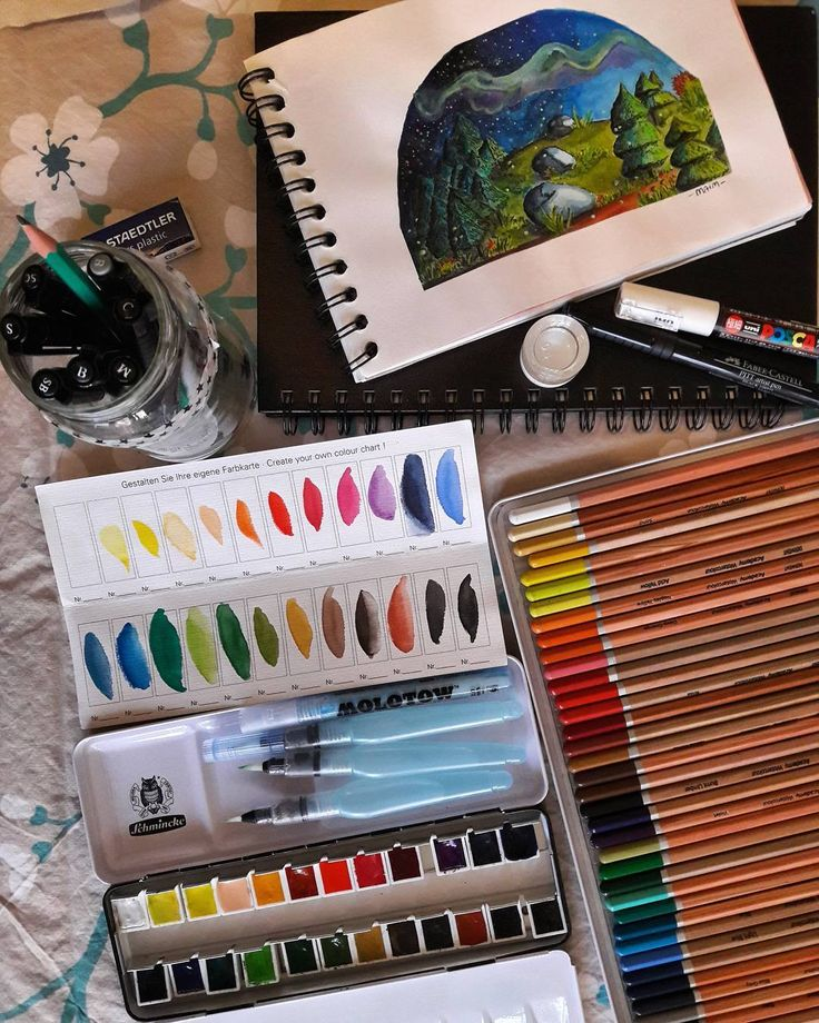 Drawing art supply. Watercolour aquarell pencils artist pen brushes... . #watercolorart #aquarell #artsupply #drawing #painting #artwork #practice #illustration #art #loveart #instaart #watercolourbrushes #watercolourpencils  #Schmincke #Derwent #fabercastell #pentel #posca
