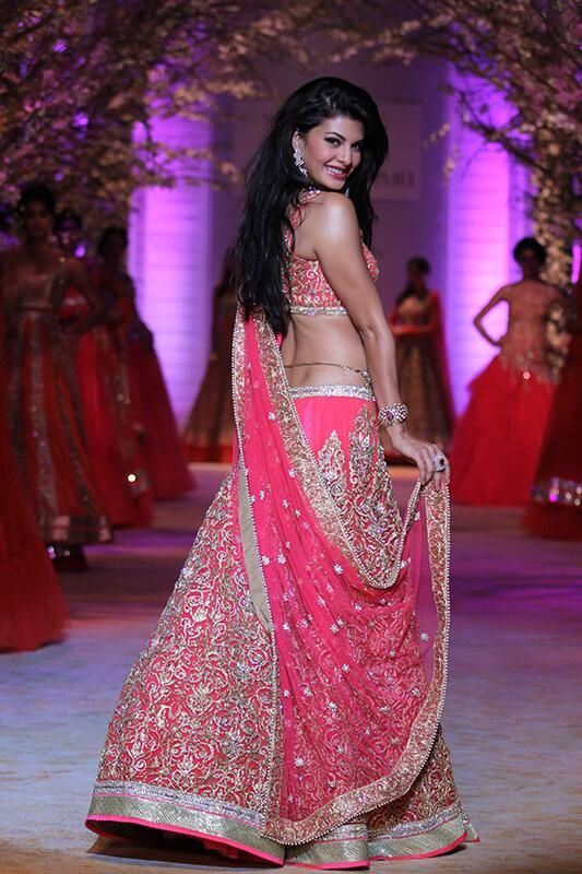 India Bridal Fashion Week 2014 #Desi #Lehenga