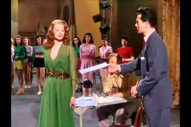 """""""Let's Stay Young Forever"""" with Rita Hayworth's dance part - Down To Ear... """"I wanted a goddess and a goddess came outta nowhere!"""""""
