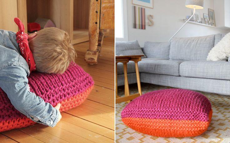 Puff-pillow