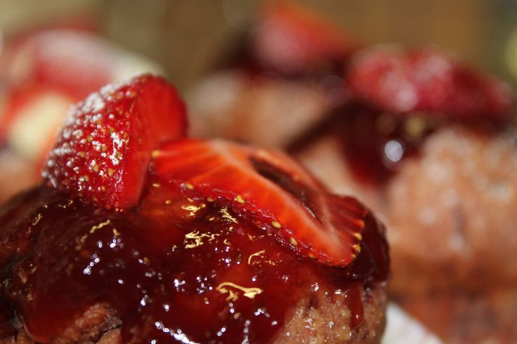 Cupcakes με φράουλες | Strawberry Cupcakes