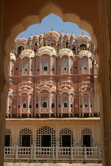 The Hawa Mahal at jaipur, Rajasthan, India Jain Temple, #Udaipur, #Rajasthan, #India  Beautiful Rajasthan Visit for your winter vacation. It is beautiful place     To get Rajasthan tour package details call us now 18001081080