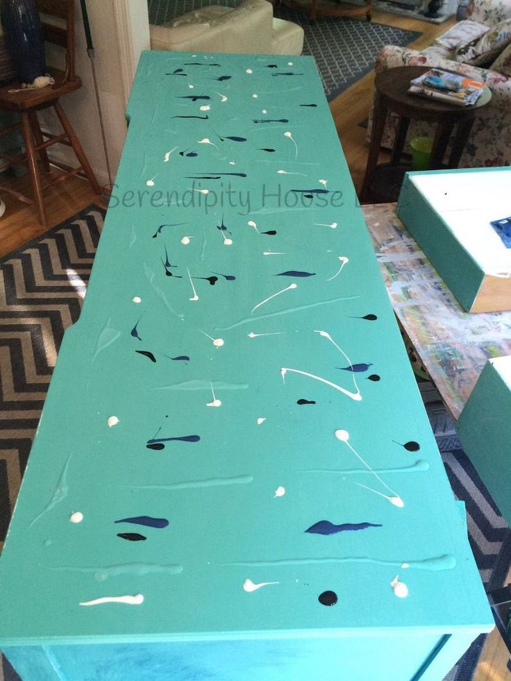 Narcissus Buffet With Unicorn SPiT in 2019  decor  Unicorn spit stain Paint furniture
