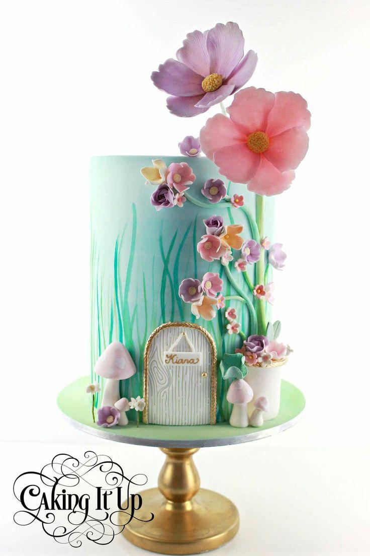Garden cake                                                                                                                                                                                 More