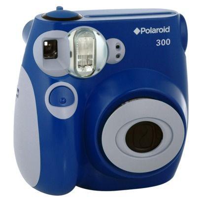 Polaroid 300 Instant Camera - Blue (PIC-300L) at Target for $69.99-- my next splurg