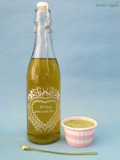 Schnin's Kitchen: Bärlauch-Öl & Bärlauch-Salz
