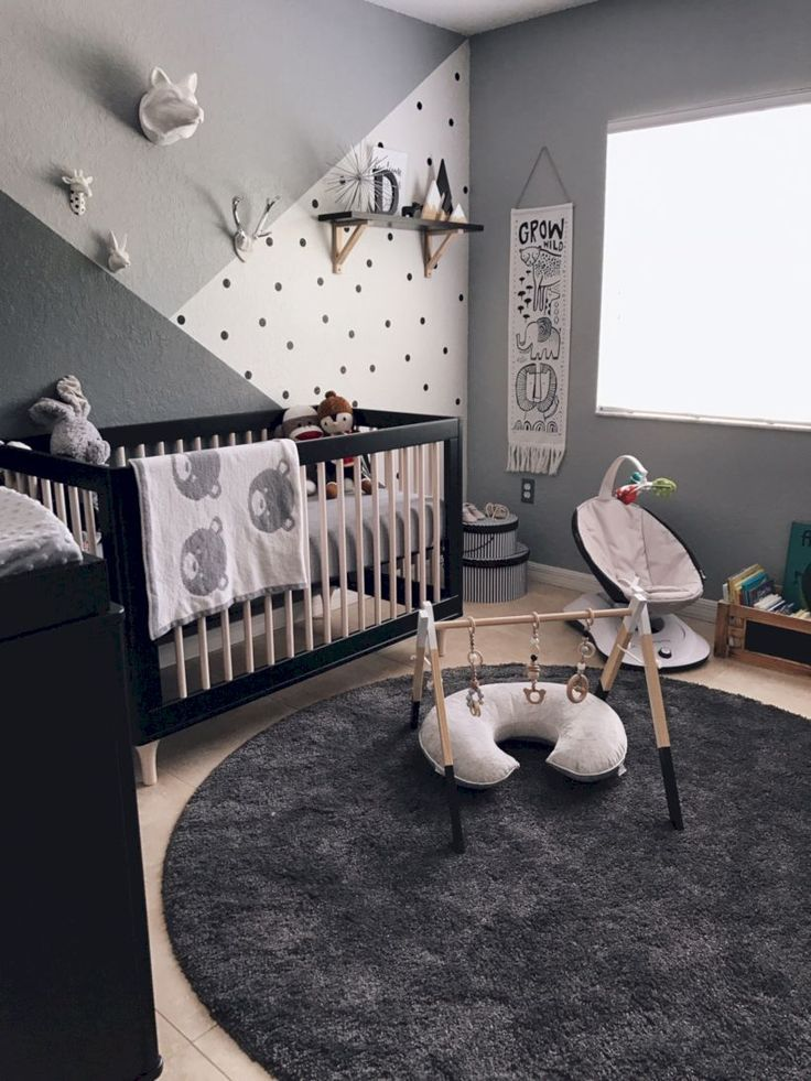 Idées de conception de chambre de bébé bébé simple (15)   – KIDS: Nursery Design Ideas