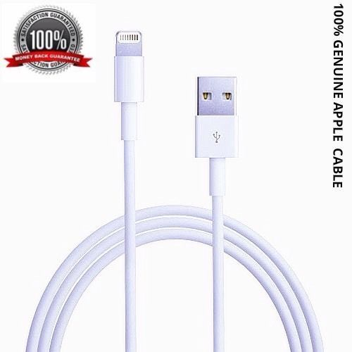 100% Genuine Apple Lightning to USB Sync Charger Data Cable for iPhone5 6 iPad 4 in Mobile Phones & Communication, Mobile Phone & PDA Accessories, Cables & Adapters   eBay