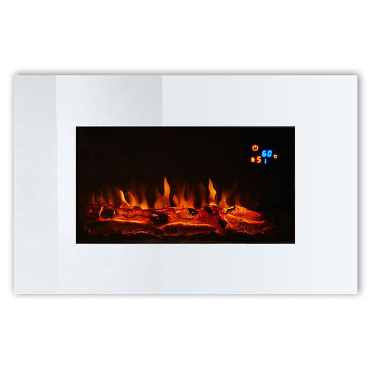 Focal Point Osmington Black LED Display Remote Control Wall Hung Electric Fire | Departments | DIY at B&Q