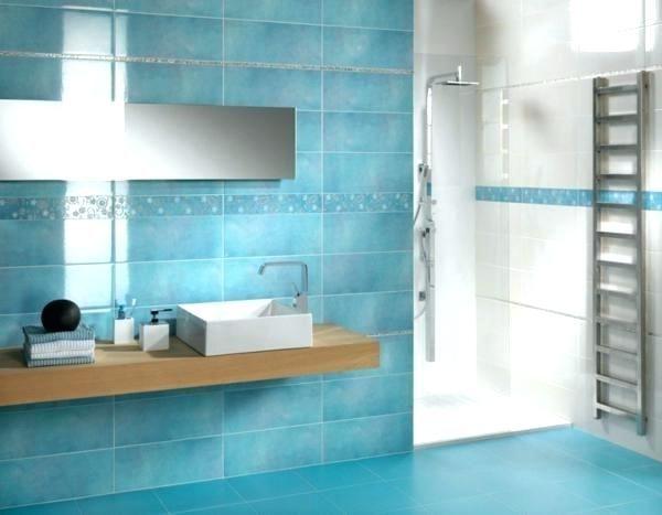 awesome carrelage sol bleu turquoise