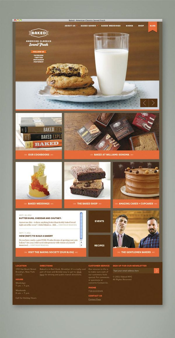 Baked: Branding and Website