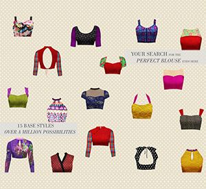 "Useful: 15 base styles for #Choli Blouse Design - "" over a million possibilities! Your search for the perfect blouse ends here! Design you own now on houseofblouse.com """