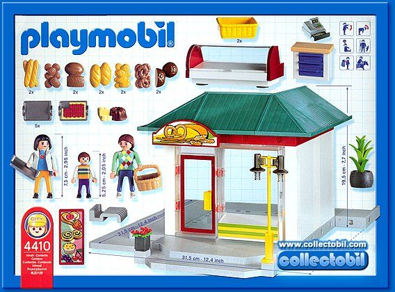 4410 bakery 2004 03 playmobil pinterest playmobil for Playmobil post