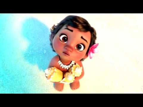 ❤ 2 HOURS ❤ Moana Lullabies with Ambience for Babies to go to Sleep Music - Songs to go to sleep - YouTube