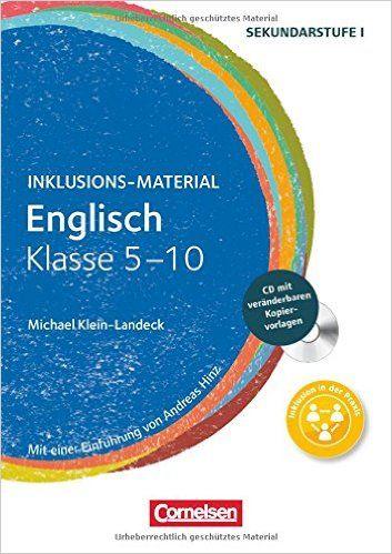 Inklusions-Material: Englisch - Klasse 5-10: Buch mit CD-ROM: Amazon.de: Dr. Michael Klein-Landeck: Bücher