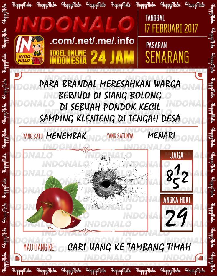 Angka Taysen 6D Togel Wap Online Live Draw 4D Indonalo Semarang 17 Februari 2017
