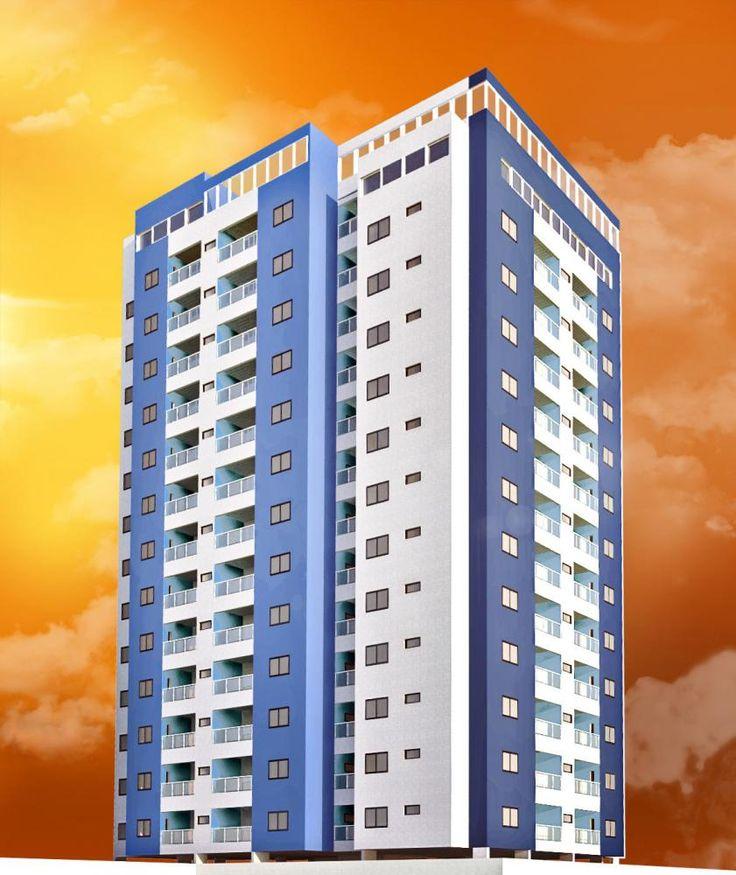 Estudo de um residencial desenvolvido para uma cooperativa - Immobile Arquitetura