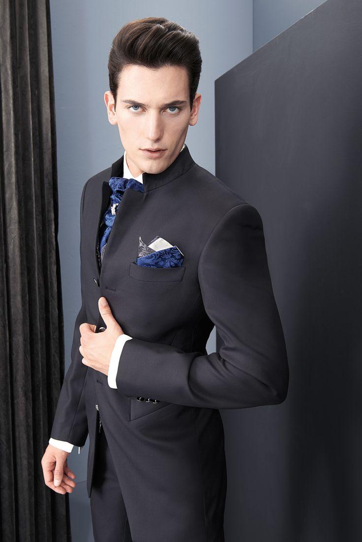 Lo sposo Cleofe Finati: l'anima di un principe moderno, di un dandy contemporaneo e dell'uomo fashion ma di classe.