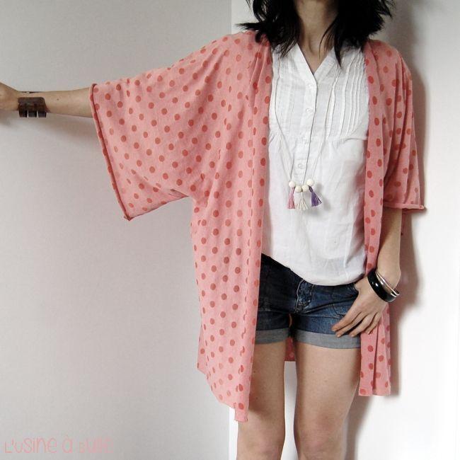 L'usine à bulle: [DIY] Gilet kimono ultra facile                                                                                                                                                     Plu