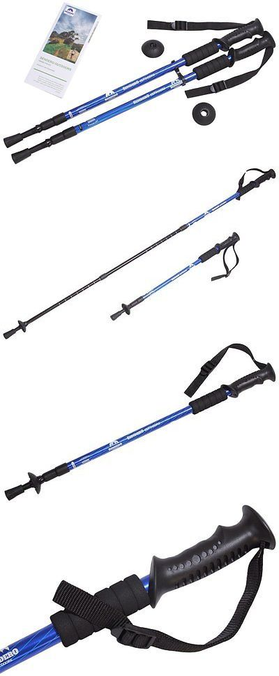 Walking and Trekking Sticks 23809: Hiking Poles - Collapsible Walking / Trekking Stick By Sendero Outdoors For Men -> BUY IT NOW ONLY: $30.25 on eBay!