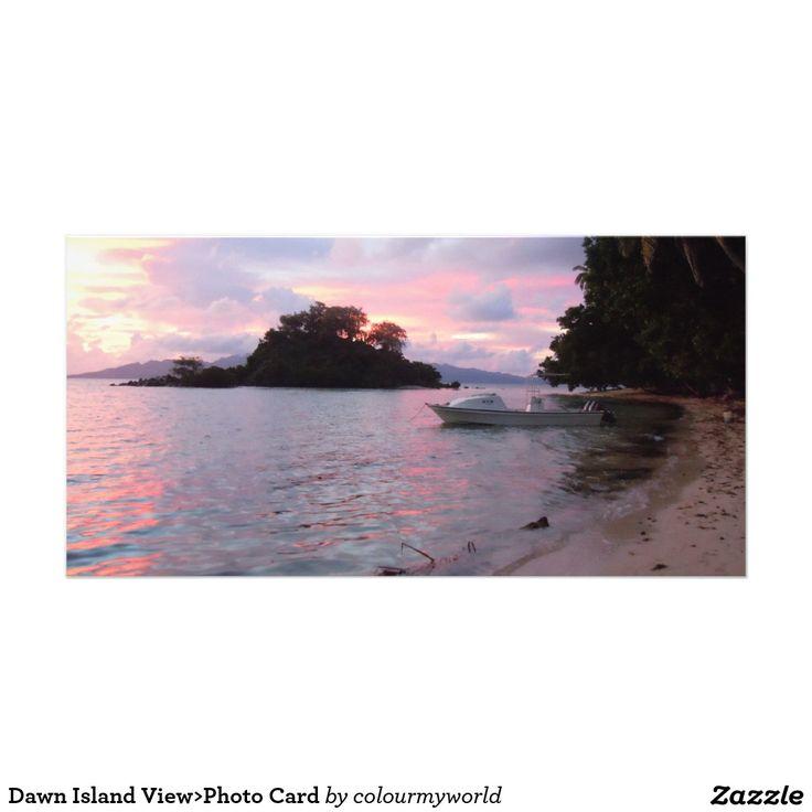 Dawn Island View>Photo Card Photo Card