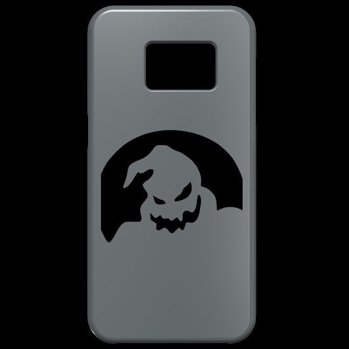 Guess who, it's the Oogie Boogie Man from Nightmare Before Christmas in this cool 3D Silhouette Phone Case now available at JerseyFamilyJewels at Etsy.