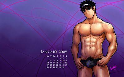 January 2009 Calendar_ Keric by humbuged