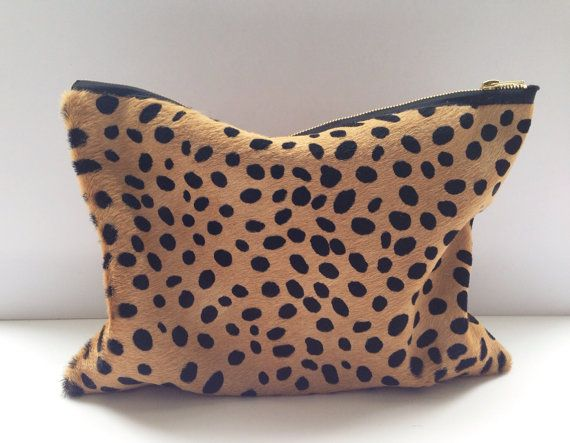 Cheetah Print Clutch from The Providence Story