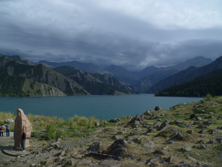 Urumqi, China (The Heavenly Lake). Arguably one of the most beautiful places I have ever visited.