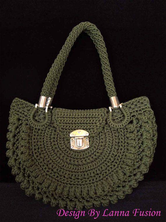 Oscuro verde mango bolsas verde bolso verde monedero verde Tote verde lujo verde lujo bolsos (N27)