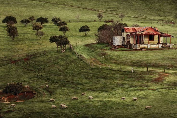 """202 Likes, 9 Comments - Mark Brierley (@mark.brierley.photography) on Instagram: """"""""The Life"""" Not far out of #perth is some beautiful farm land. I had first saw this house 2 years…"""""""