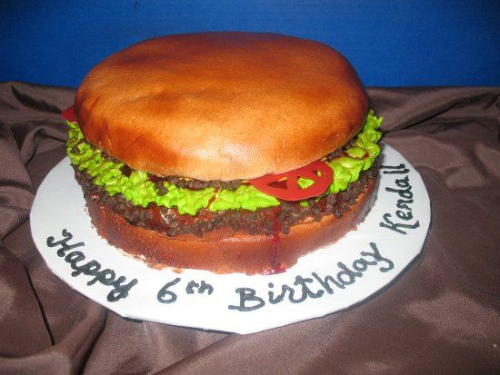 Hamburger Cake 13